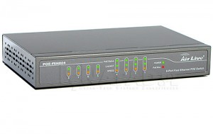 Switch 8-portowy  PoE-FSH804 Airlive