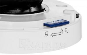 Kamera IP HLC 1NAD ze slotem kart micro SD